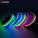 Подсветка подстаканника в авто RGB (7 цветов) автомобильный подстаканник в комплекте 2 штуки, фото 3