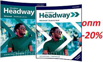 Английский язык /Headway/ Student's+Workbook. Учебник+Тетрадь (комплект), Advanced / Oxford