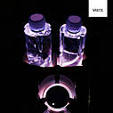 Подсветка подстаканника в авто RGB (7 цветов) автомобильный подстаканник в комплекте 2 штуки, фото 4
