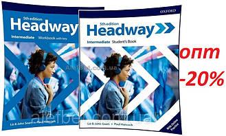 Английский язык / Headway / Student's+Workbook. Учебник+Тетрадь (комплект), Intermediate / Oxford