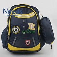 Рюкзак школьный для мальчика с пеналом. Ранец-портфель для школы (88134)
