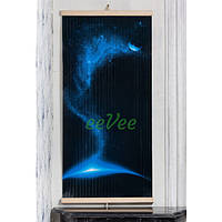 Настенный обогреватель картина Трио Космос 600 Вт с терморегулятором инфракрасный электрический пленочный