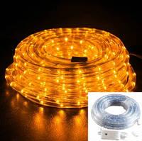 Светодиодная LED лента 100м Дюралайт 220В Золотистая
