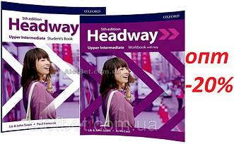 Английский язык /Headway/ Student's+Workbook. Учебник+Тетрадь (комплект), Upper-Intermediate / Oxford
