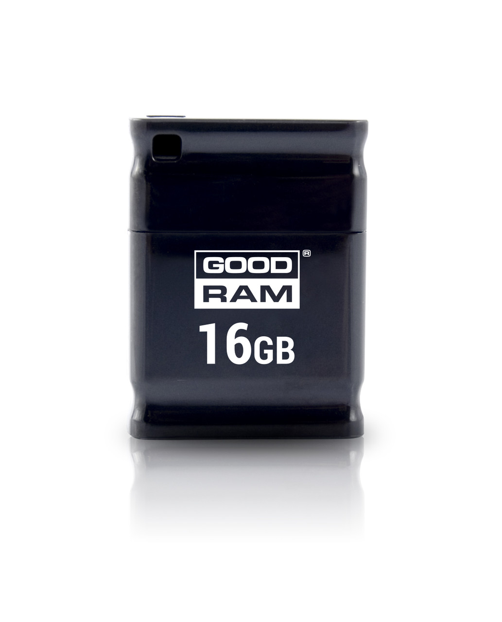 Флеш-накопичувач USB 16GB GOODRAM UPI2 (Piccolo) Black (UPI2-0160K0R11)
