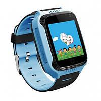 Детские смарт-часы Smart Baby Watch BLQ528 c GPS-модулем Голубые