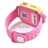 Часы детские Smart Baby Watch Q200 с GPS Android 3G с сим-картой смарт наручные Розовые, фото 5