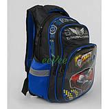 Рюкзак шкільний ортопедичний ранець для хлопчика 1 2 3 клас Чорний (87925), фото 2