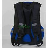 Рюкзак шкільний ортопедичний ранець для хлопчика 1 2 3 клас Чорний (87925), фото 3