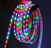 Светодиодная LED лента 100м Дюралайт 220В Цветная