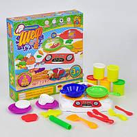 Набор для лепки Fun Game Маленький Шеф-повар с аксессуарами (7297)