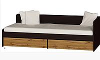 Кровать односпальная с ящиками Соната-800