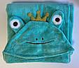 Детское полотенце уголком ПРЕМИУМ 140*75см, Плед рушник дитячий з куточком, фото 3