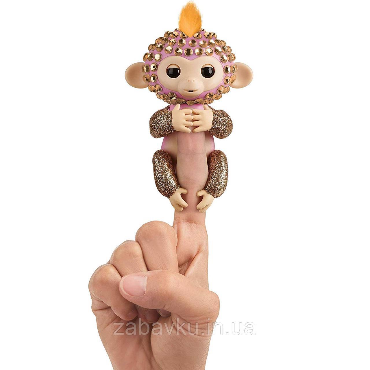 Фінгерлінз інтерактивна мавпочка WowWee Fingerlings Фингерлингз интерактивная обезьянка на палец оригинал