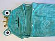 Детское полотенце уголком ПРЕМИУМ 140*75см, Плед рушник дитячий з куточком, фото 4