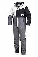 Мужской лыжный костюм FREEVER 11722-022K белый