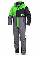 Мужской лыжный костюм FREEVER 11722-622K салатовый
