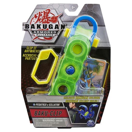 Бакуган Пегатрикс Гиллатор с клипсой для хранения Bakugan Armored Alliance