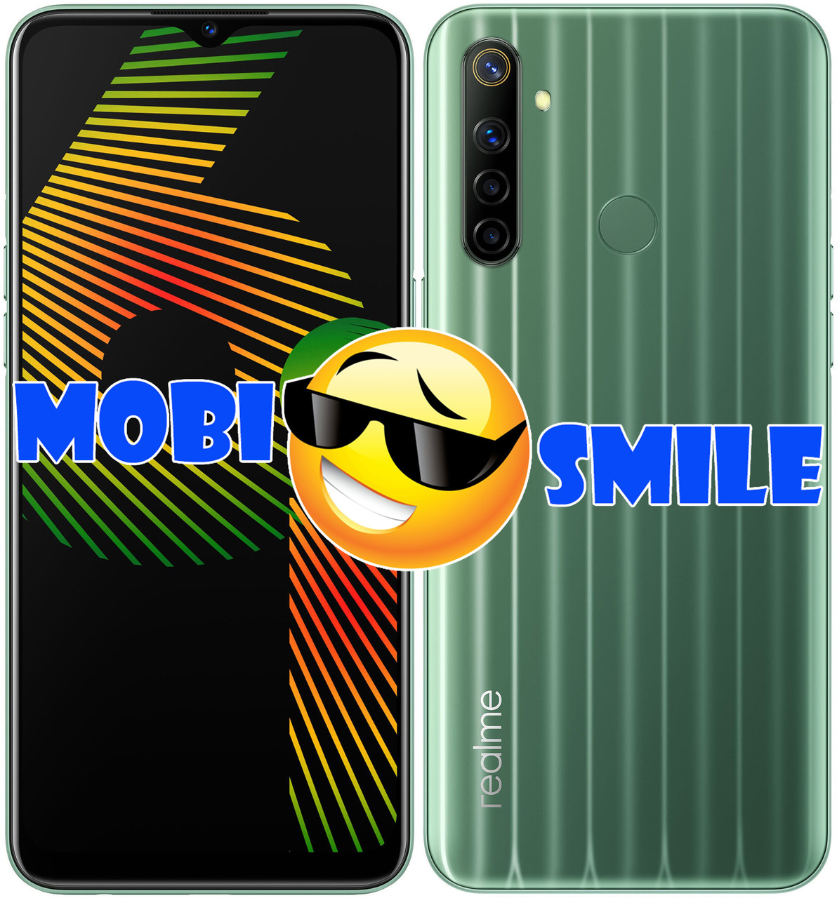 Смартфон Realme 6i 4/128Gb Green UA UCRF Гарантия 12 месяцев