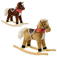 Качалка-лошадка детская 64104, звук