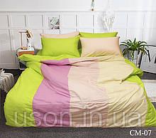 Комплект постельного белья из сатина Color mix Tm Tag CM-07