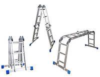 Стремянка-трансформер Triton-tools 4х3 (с полкой) 02-107-1 (02-107-1)