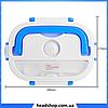 Ланч-бокс электрический Electronic Lunch box с подогревом 1.05 л - Термоконтейнер для еды, Термос для еды 220V, фото 3