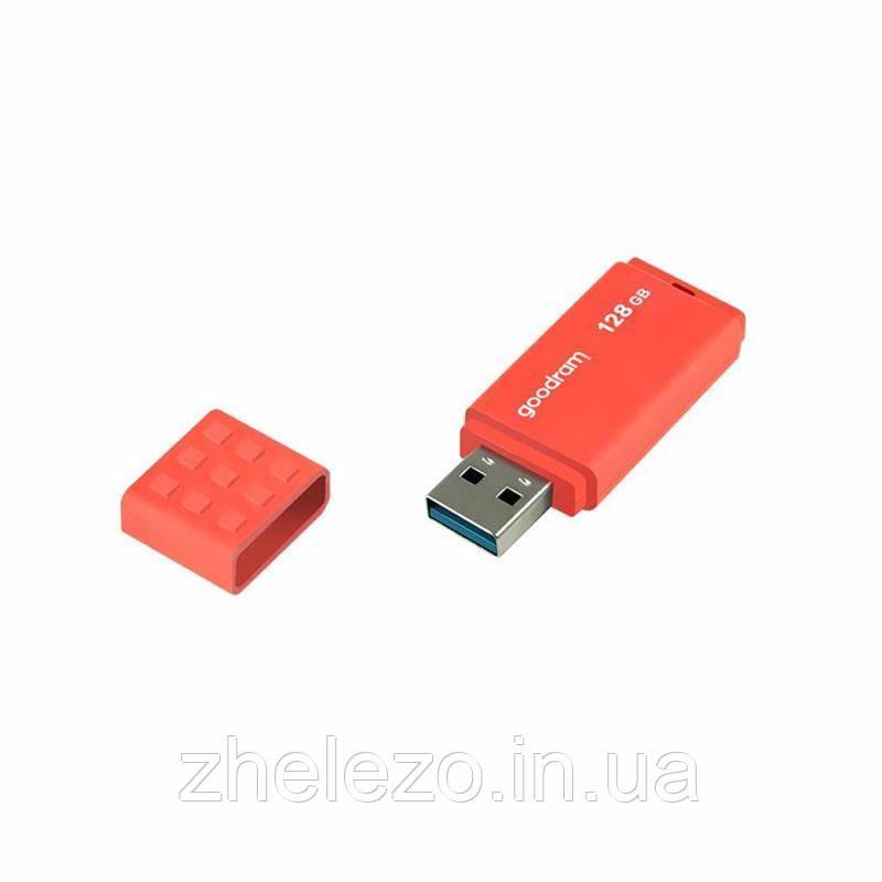 Флеш-накопичувач USB3.0 16GB GOODRAM UME3 Orange (UME3-0160O0R11)