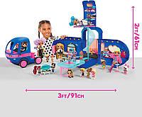 ЛОЛ Ремикс Автобус  кемпер с куклой от MGA  4-в-1 LOL Surprise Remix ! 4-in-1 Glamper Fashion Camper