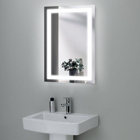 """Зеркало LED (50*80*2,5см) """"JANVIER"""" VZ-AL-D1 сенсором"""