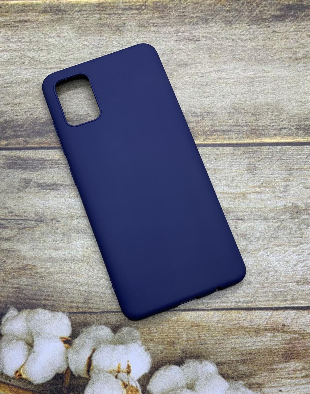 Чехол на Samsung A51 2020 (A505F) матовый цветной силиконовый  ультратонкий бампер/ накладка