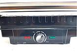 Гриль контактный Rainberg RB-5402 сэндвичница c терморегулятором 2200W, фото 4