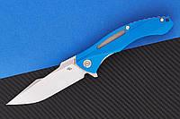 Нож складной CH 3519-G10-blue, фото 1