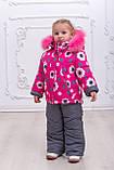 Комбинезон зимний для девочки Нapy Family, рост 92-110, фото 8