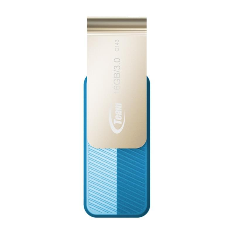 Флеш-накопичувач USB3.0 Team C143 16GB Blue (TC143316GL01)