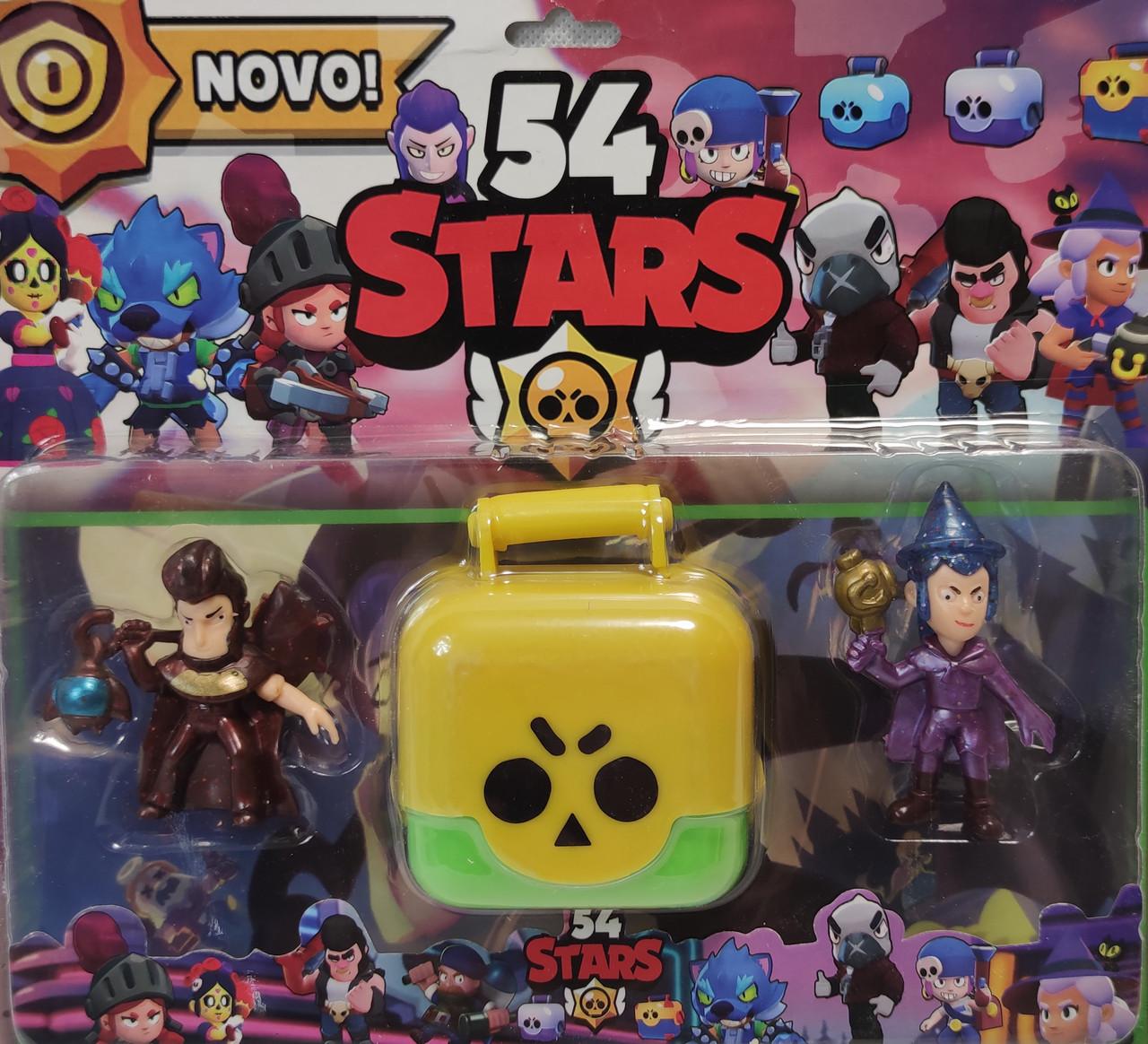 Набор Герои Brawl Stars Бравл Старс 2шт +бокс