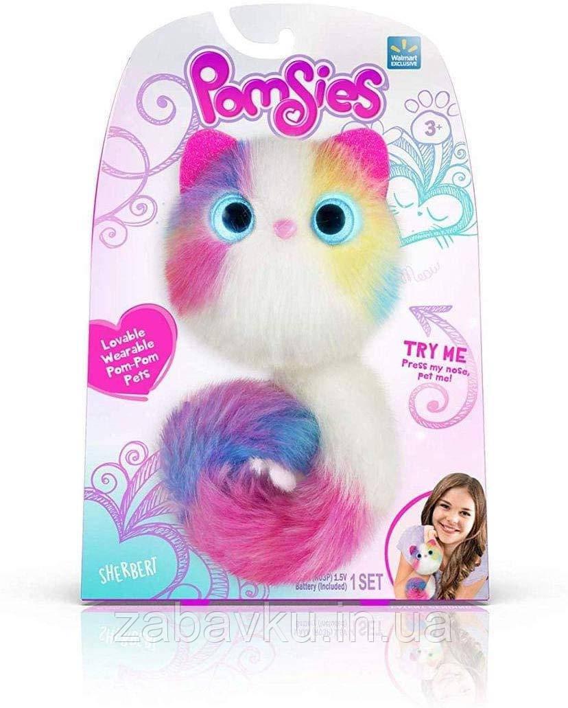 Інтерактивна кішка Помсі Pomsies Sherbert Интерактивная кошка помсис шерберт оригинал