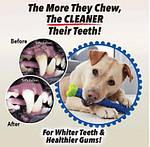 Собачья кость щетка для чистки зубов, косточка для собак, Chewbrush, фото 2
