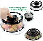 Вакуумная крышка Vacuum Food Sealer 19 см, фото 2