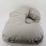 Подушка U образна для сну (Сіра), фото 3
