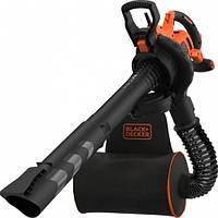 Садовый пылесос Black&Decker BEBLV300 3000Вт,230-404км/ч,V=72л.