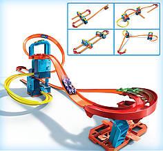 Трек Хот Вилс Hot Wheels Моторизованный набор 5 в 1 ультра ускорителей GLC97