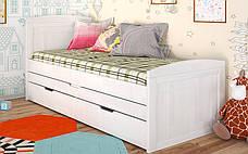 Ліжко Компакт 2 спальних місця (Бук) Арбодрев, фото 3