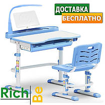 Дитяча парта одномісна зі стільцем Evo-Evo kids-18 (з лампою), фото 2