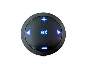 Кнопки управления магнитолой на руле ZIRY DQX-Q1 black 5 кнопок, универсальные с подсветкой LED