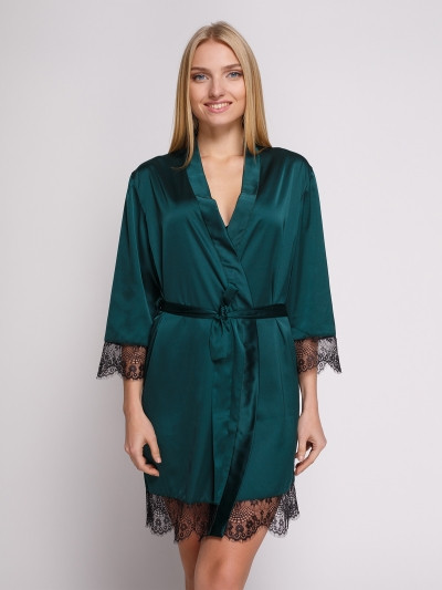 501 халат шовк зелений Serenade (M) #N/A