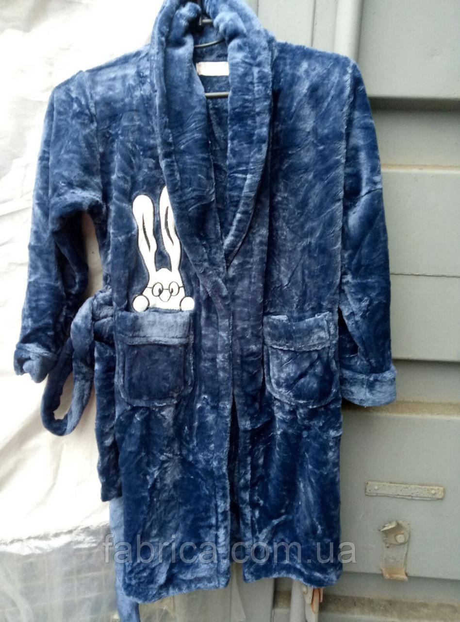 Детский халат банный 6-10 лет