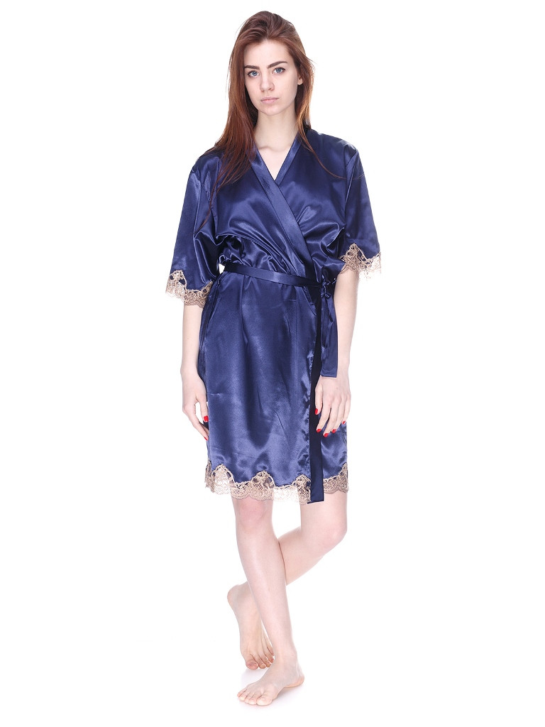 1041 халат атлас синій Serenade (XXL) #N/A