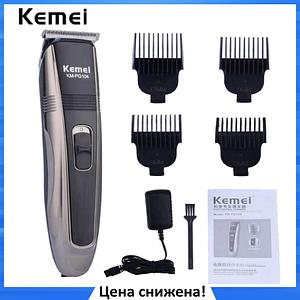 Машинка для стрижки волос KEMEI PG-104 Беспроводная с индикатором заряда