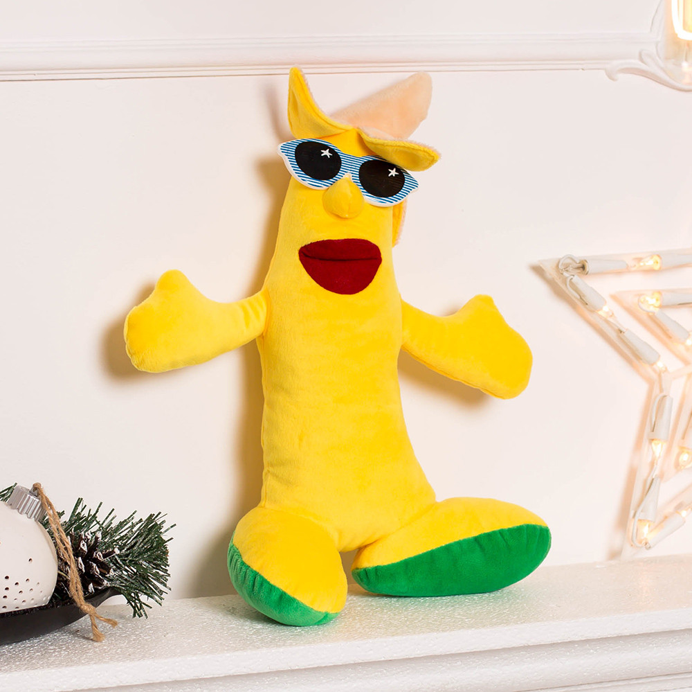 Банан мягкая игрушка бананчик